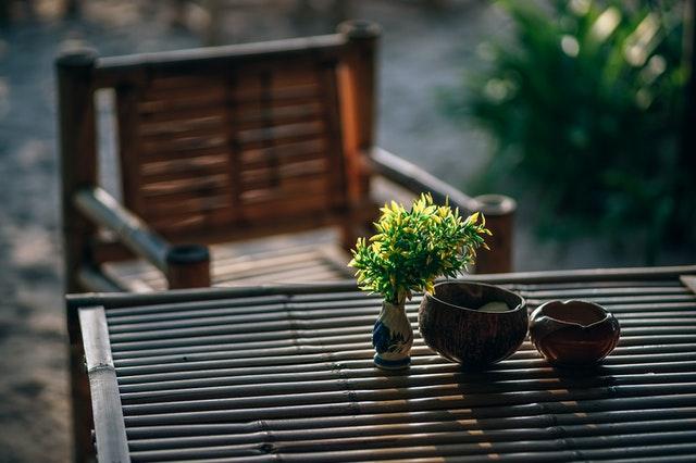 Najboljša vrtna garnitura je iz lesa